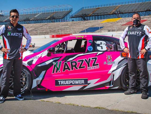 Arzyz Metals Racing, listos para Querétaro