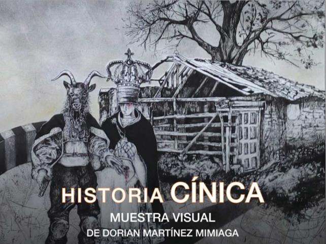 """Invitan a la exposición """"Historia cínica"""""""