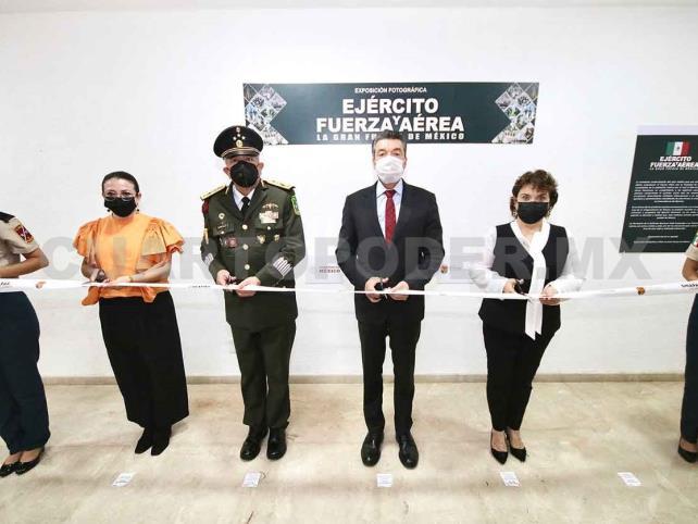 Reconoce Ejecutivo al Ejército Mexicano y la Fuerza Aérea