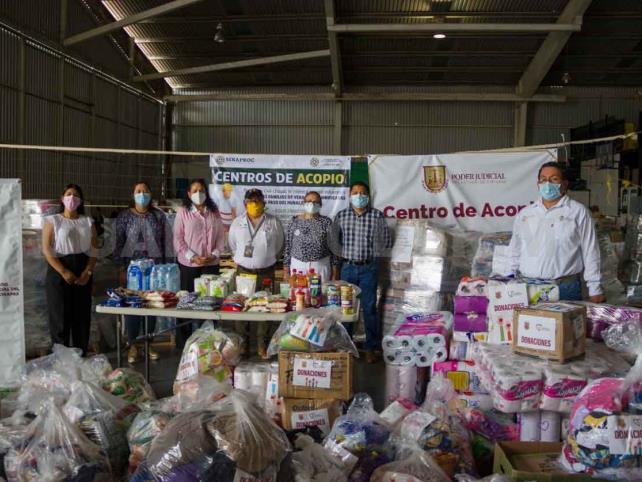 Entregan donación humanitaria
