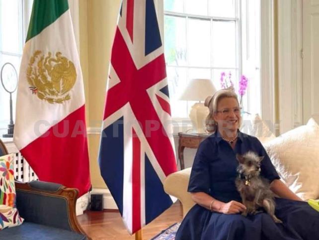 Josefa González-Blanco, embajadora de México ante Reino Unido