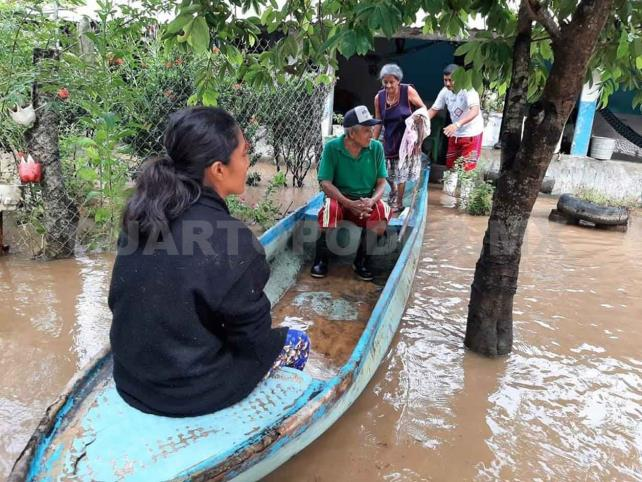 15 municipios resultaron afectados por las lluvias
