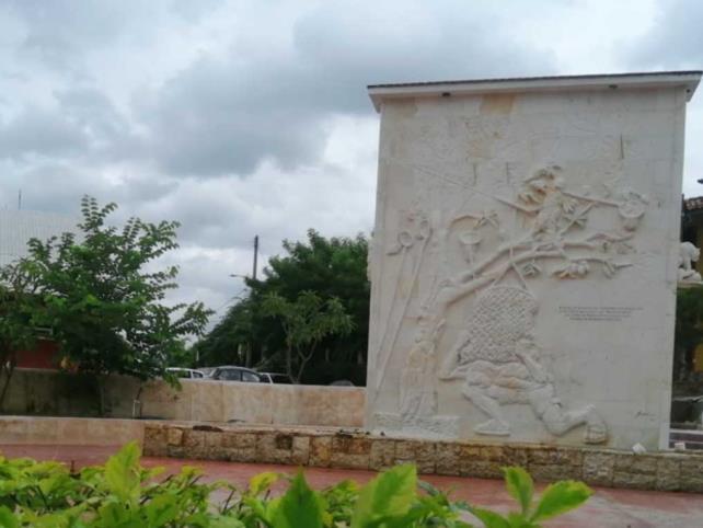Crean murales con piedra cantera
