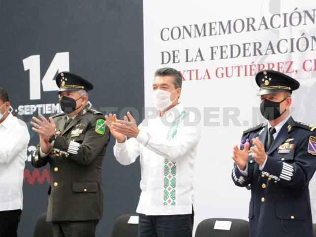 Federación de Chiapas a México, voluntad del pueblo: Escandón