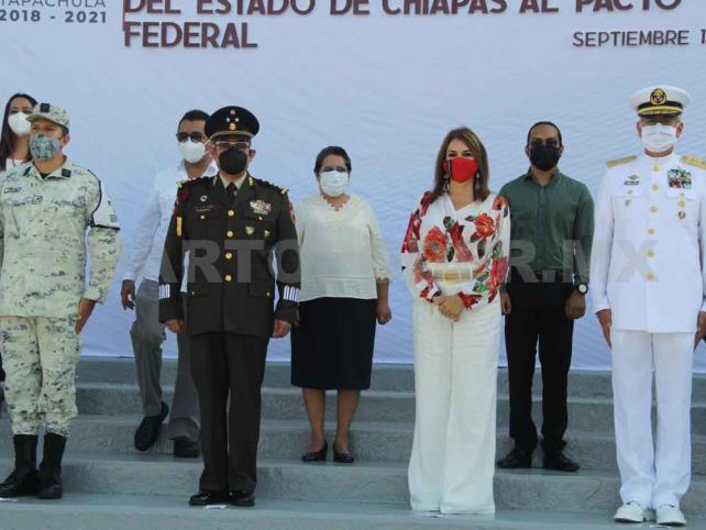 Celebran aniversario de la anexión de Chiapas a México