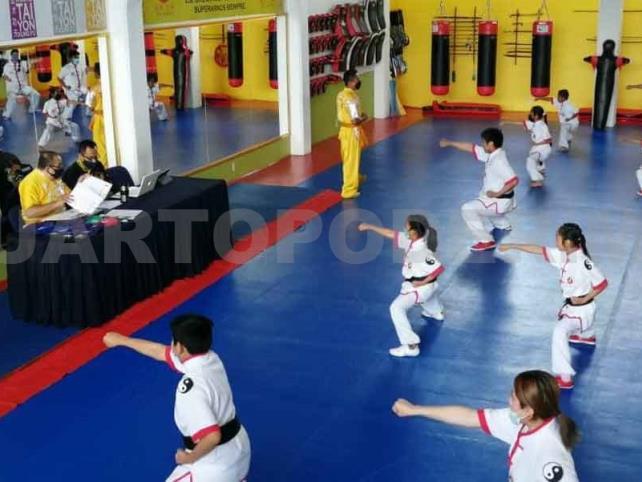Wushu Tai Yon celebró evaluación de grados