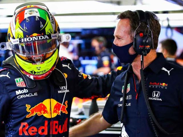 """Jefe de Red Bull elogia a """"Checo""""  Pérez"""