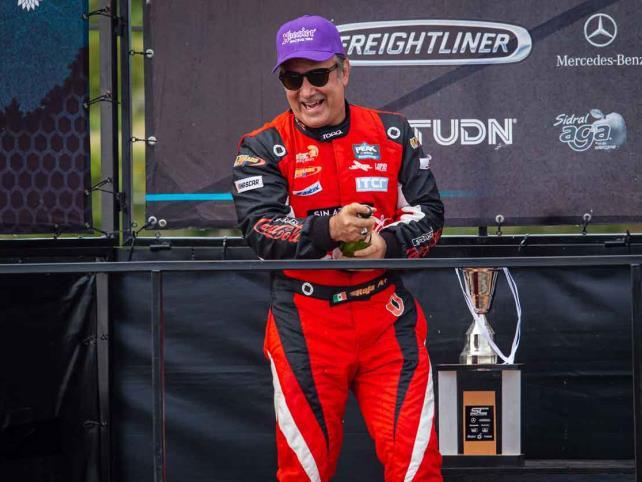Rafael Vallina disfrutó de su doble podio