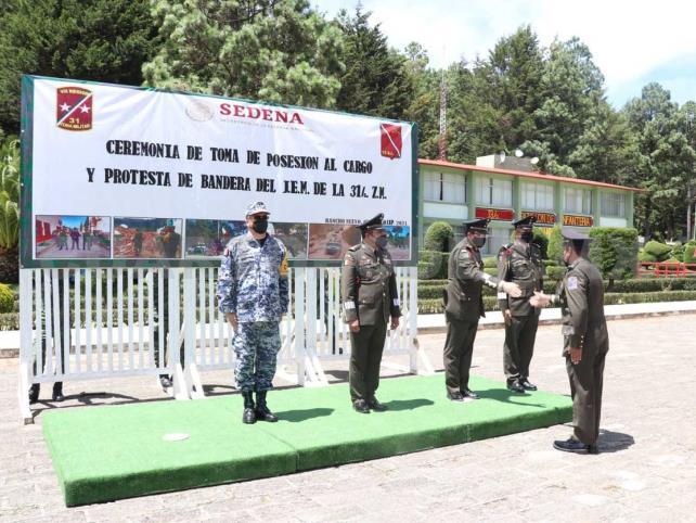 Toma posesión nuevo JEM de la 31.ª Zona Militar