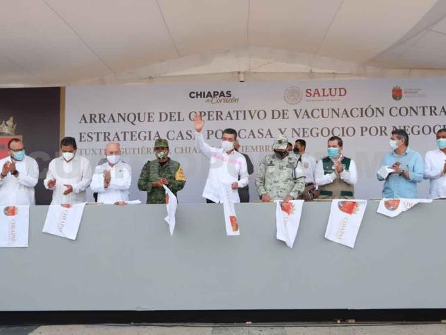 Se fortalece vacunación anticovid Casa por Casa