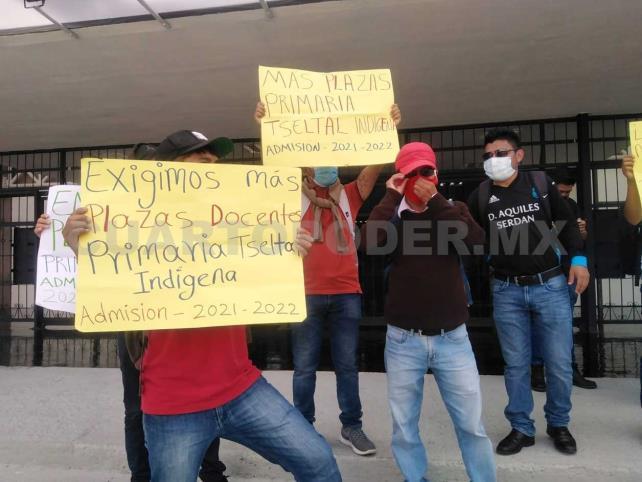 Docentes indígenas demandan 400 plazas
