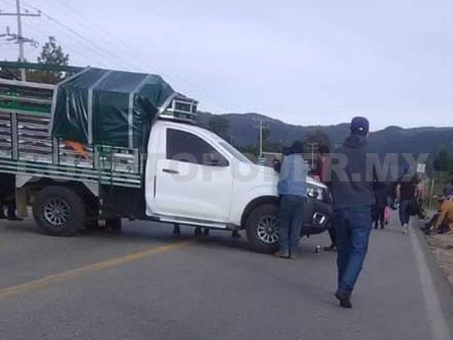 Bloquearon la carretera San Cristóbal-Teopisca