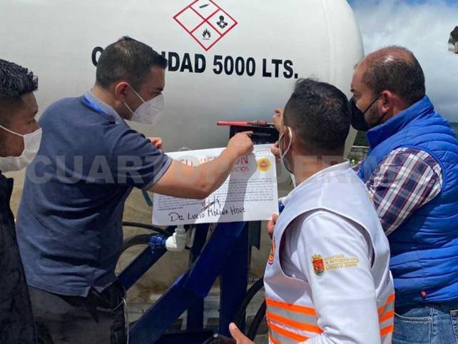 Clausuran planta de gas por riesgo a la población