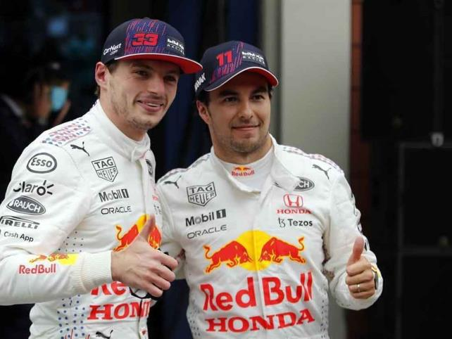 """""""Checo"""" sube al podio en el GP de Turquía"""