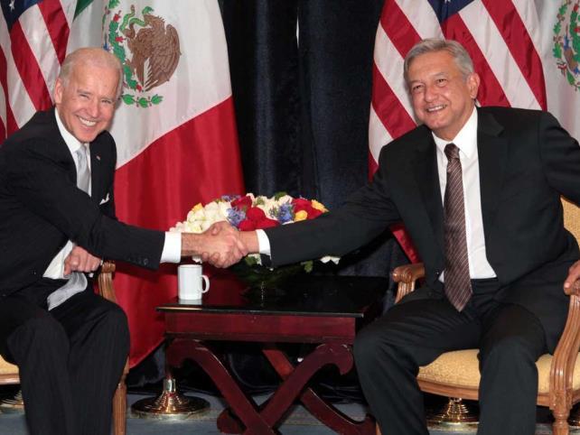 Joe Biden agradece a AMLO por programas