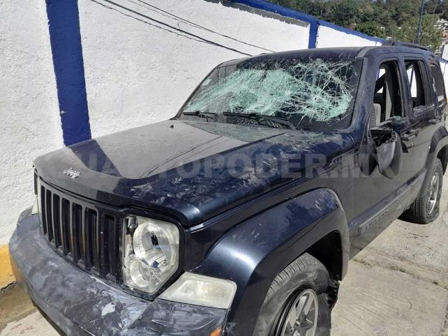 Policía repele agresión armada en zona norte