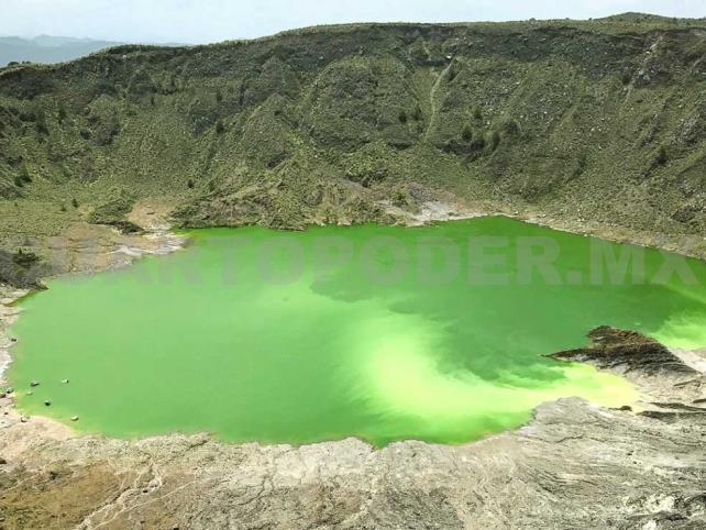 Volcanes en Chiapas permanecen inactivos