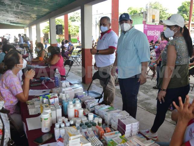 Brigada Rosa recorre comunidades rurales